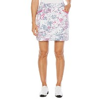 Callaway 18 in Printed Piped Golf Skort 2017レディース明るいホワイトXL