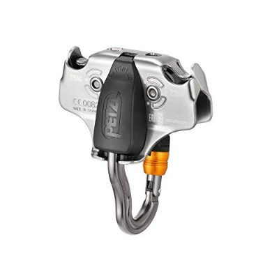 Petzl Tracプーリwith vertigo wire-lock Ziplineプーリ