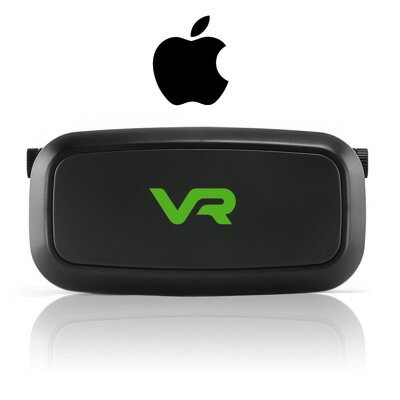 3D VRゴーグル VRヘッドセット 4-6インチ スマホ用 VR Headset for iPhone VR Fits all iPhones Comfortably Immerse...