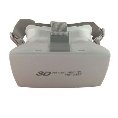 3D VRゴーグル VRヘッドセット 4-6インチ スマホ用 ホワイト 2015 New Model 3d Vr White Virtual Reality Glasses 4-7 Inches...