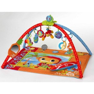 Infantino Music and Motion Activity Gym and Playmat - Beach Party by Infantino