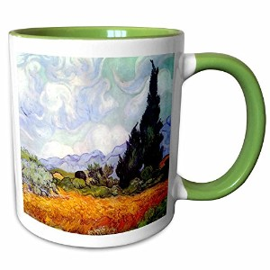 3dローズInspirationzStoreビンテージアート–Wheat Field with Cypresses by Vincent Van Gogh 1889–Wheatfield–...