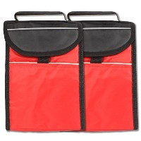 on-the-go soft-sided Insulated Red Lunch Toteバッグby bogoブランド レッド