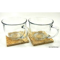 Large Clear Coffee, Tea or Soup Mug, 18 oz.~ by Greenbrier