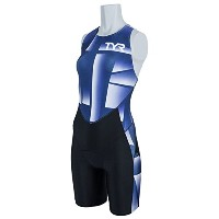 TYR(ティア) TRI-SUIT FOR SHORT COMP W/BACK ZIPPER SWST1-18S NV S