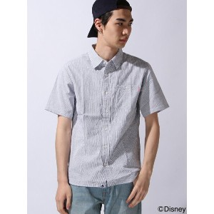 【SALE/70%OFF】XLARGE×Disney S/S DISNEY STRIPED SHIRT エクストララージ シャツ/ブラウス【RBA_S】【RBA_E】【送料無料】