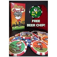Vegas Golf High Roller Edition-NOW with 15-chips! Now Includes a FREE Beer Chip [並行輸入品]