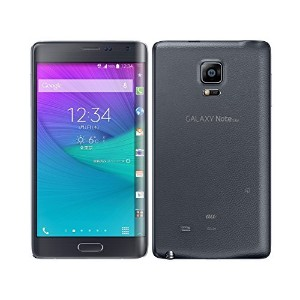 GALAXY Note Edge SCL24 au [black] 白ロム