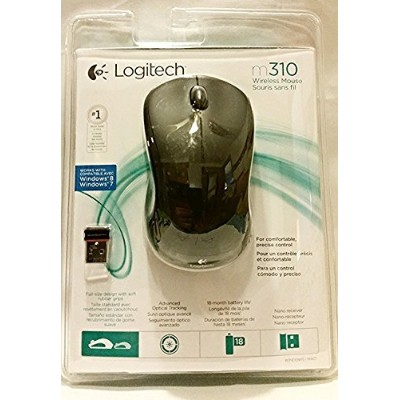 Logitech Wireless Mouse M310 (Black) [並行輸入品]