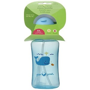 green Sprouts Aqua Bottle, Aqua, 10 Ounce by green sprouts by i play. [並行輸入品]
