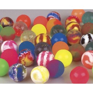 1 Dozen 60mm Assorted Colored Super Bouncy Ball by SuperBouncyballs.com [並行輸入品]