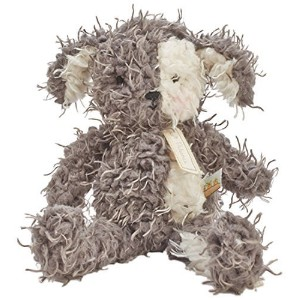 Bunnies By The Bay Shaggy Fetch Pup Plush Toy, Grey/Cream by Bunnies By The Bay