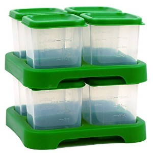 green sprouts by i play. Baby Food Storage Cubes - Green - 4 oz - 8 ct by i play. [並行輸入品]