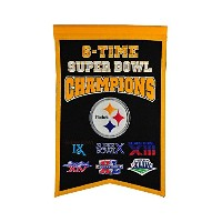 High Quality Steelers Champions Banner