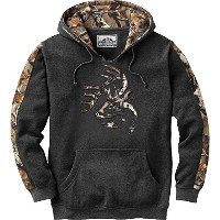 Legendary WhitetailsメンズCamo Outfitter Hoodie M グレー