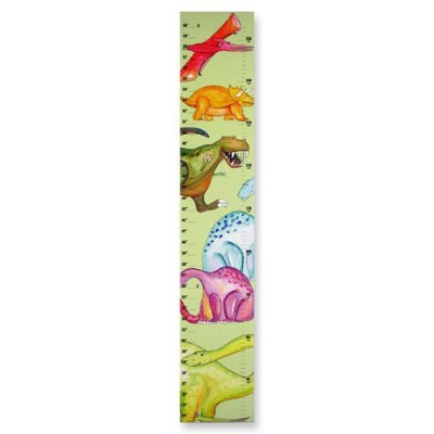 The Kids Room by Stupell Dinosaurs on Green Background Growth Chart by The Kids Room by Stupell