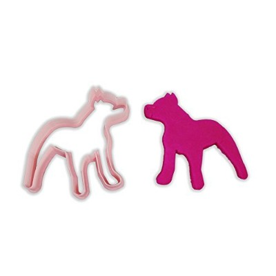 (LARGE - 10cm) - Pitbull Dog Breed Cookie Cutter - LARGE - 10cm