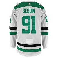 Tyler Seguin Dallas Stars Adidas Authentic Away NHL Hockey Jersey ホワイト