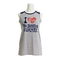 The Endless Summer(The Endless Summer) ノースリーブシャツ TESL006 GRY (グレー/L/Lady's)