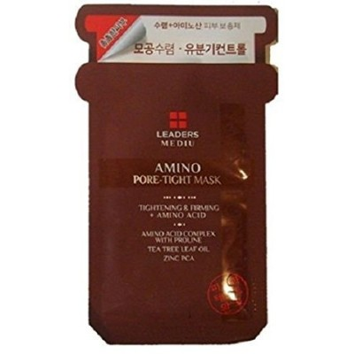 LEADERS MEDIU Amino Pore-Tight Mask 1.6 Ounce [並行輸入品]