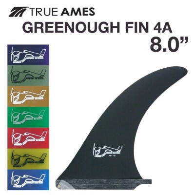TRUE AMES トゥルーアームス GREENOUGH FIN 8.0 グリノー フィン 4A サーフィン