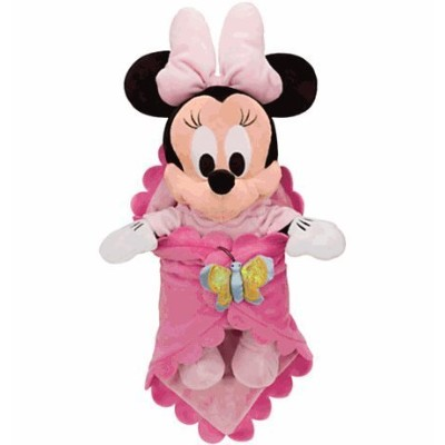 Disney(ディズニー) Disney's Babies Minnie Mouse Plush Doll and Personalized Blanket 赤ちゃんミニーマウスぬいぐるみ ...
