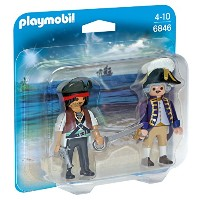 PLAYMOBIL� 6846 Pirate and Soldier Duo Pack - NEW 2016