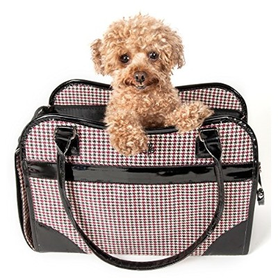 Exquisite' Handbag Fashion Pet Carrier, One Size, As Displayed by Pet Life