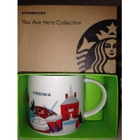 Starbucksコーヒーマグ–Virginia You Are Here Collection