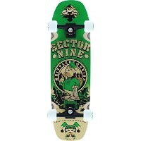 Sector 9 Woodshed 2016 Green Complete Skateboard - 8.75 x 32 by Sector 9