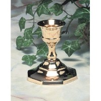"Brass Candlestick – For 7 / 8 "" 35 cm"