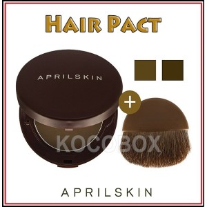 [April Skin] ヘアーパクト Hair Pact  10g 2color 韓国コスメ  / K- Beauty / Korean Cosmetic