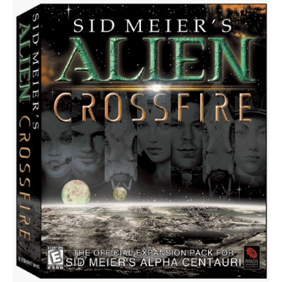 Sid Meier's Alpha Centauri Expansion: Alien Crossfire (輸入版)