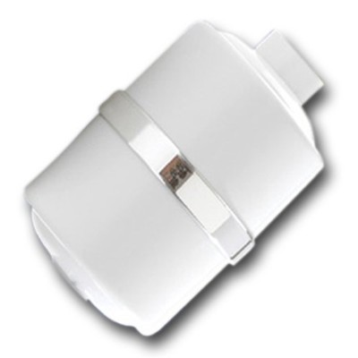 Crystal Quest White Shower Filter Without Shower Head