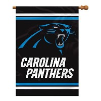 High Qualitya Panthers 2 Sided House Banner, 28 x 40-Inch