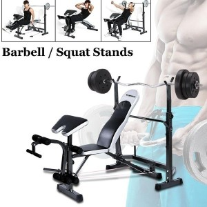 Adjustable Multi-Station Weight Bench Press Incline Flat Decline Sit Up Bench Weight AB Bench Board