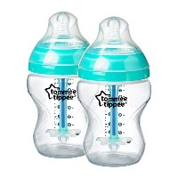 Tommee Tippee 2-Pack Closer to Nature Sensitive Tummy Bottle 9oz