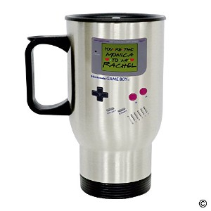 MSMR Personalized Travel Mug – Funny Quote Photo Mug – Nintendo Game Boyモニカにあなたにto My Rachel...