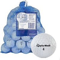 High Quality B Grade Recycled Golf Balls (48-Pack)