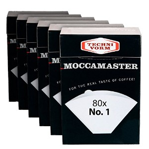 Technivorm Moccamaster 85090cup-oneフィルター紙、ホワイト