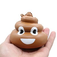 [ Squishy Toys ] Squishy Crazy Stool Squeeze Poo Slow Rising FunおもちゃRelieve Stress Cure Decor Da...