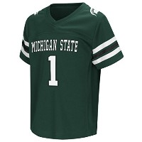 "Michigan State Spartans NCAA "" Hail Maryパス""幼児Football Jersey"