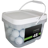 High Quality Player Mix 48 Recycled Golf Balls, White