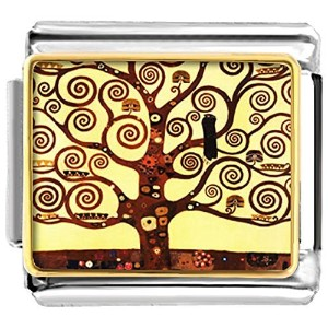 luckyjewelry Tree of Life Nomination EtchedイタリアチャームSale Cheapフィットブレスレットリンク