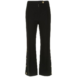 Nk cropped trousers - ブラック
