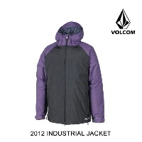 2012 VOLCOM ボルコム ジャケット INDUSTRIAL JACKET BLK