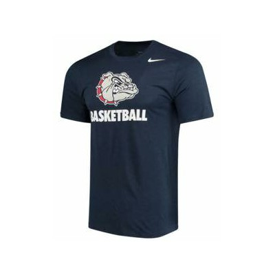ナイキ メンズ NCAA カレッジ Tシャツ Gonzaga Bulldogs Nike Basketball Sport Legend Performance T-Shirt Navy
