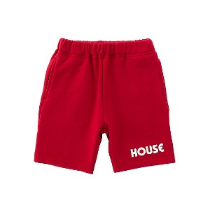 IN THE HOUSE  HOUSE SWEATSHORTS アカ 【三越・伊勢丹/公式】 キッズファッション~~その他