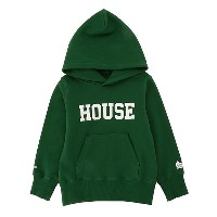 IN THE HOUSE  HOUSE COLLEGE HOODIE ミドリ 【三越・伊勢丹/公式】 キッズファッション~~その他