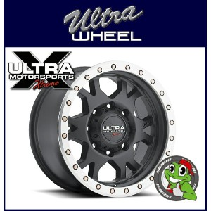 新品アルミホイール単品1本価格 18インチULTRA WHEEL X102 Xtreme X-Lok 18×9.0J 5/139.7+18SatinBlack/Machined X-Lok Lip...